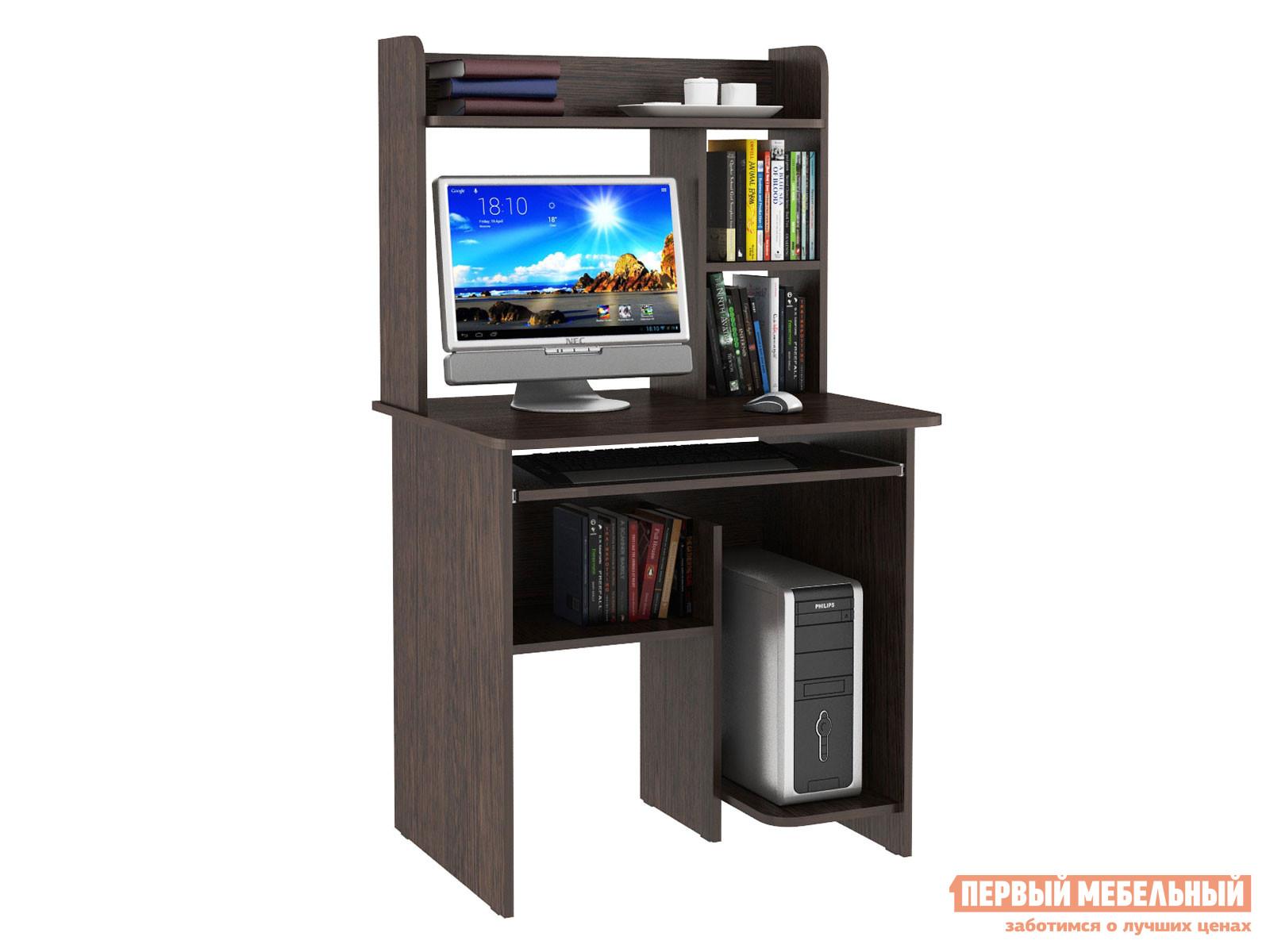 Компьютерный стол  Стол компьютерный Иртыш Венге — Стол компьютерный Иртыш Венге