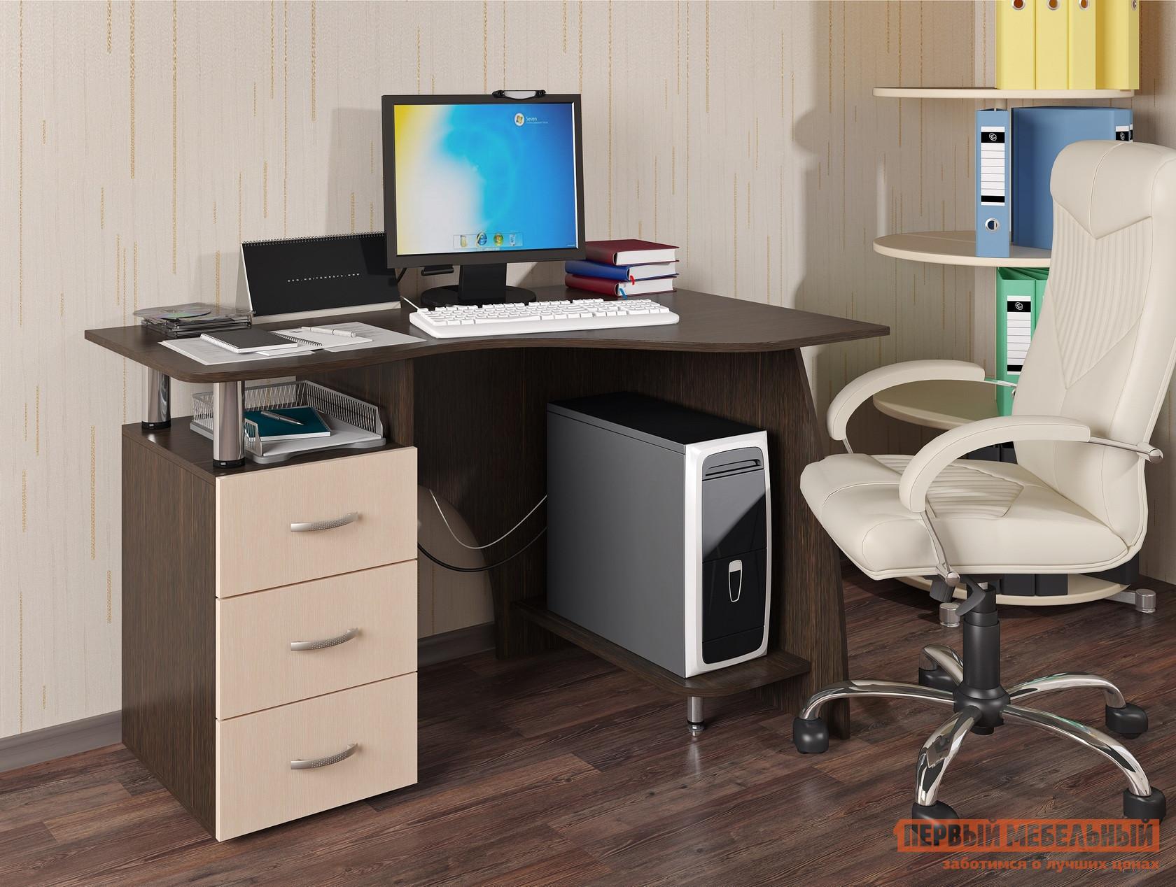 Стол компьютерный Первый Мебельный Стол компьютерный Лорд