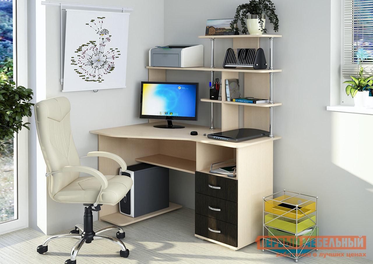 Стол компьютерный Первый Мебельный Стол компьютерный Форест