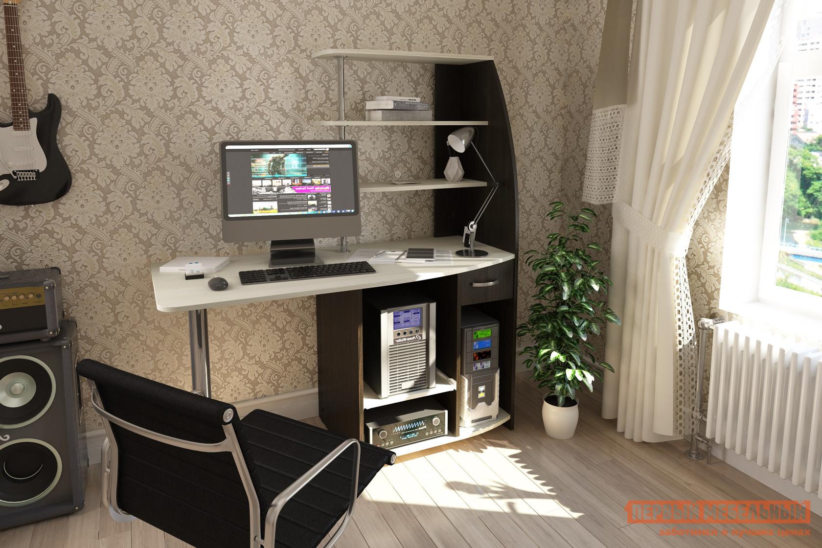 Компьютерный стол ПМ: BTS Скай Венге / Лоредо