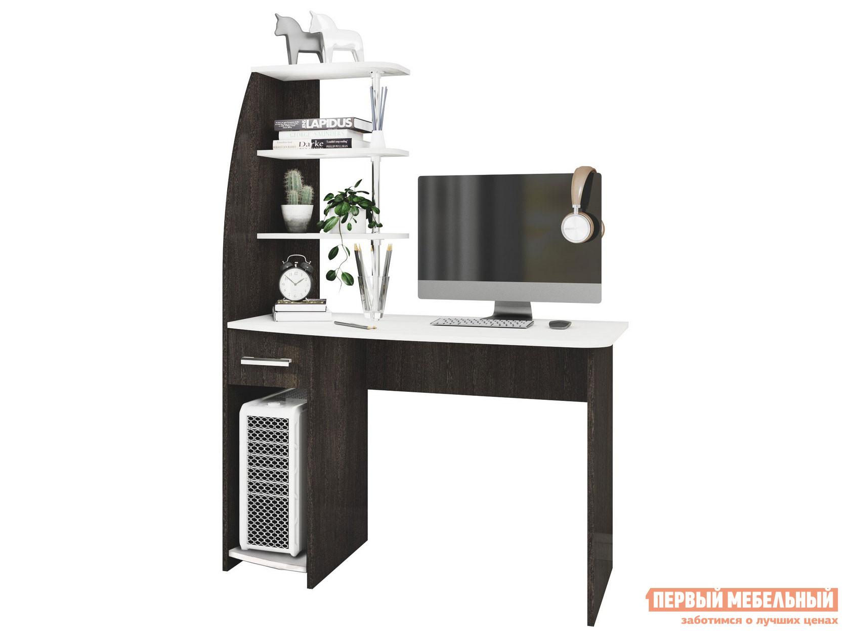 Фото - Компьютерный стол Первый Мебельный Стол компьютерный Скай NEW компьютерный стол первый мебельный комфорт 12 72