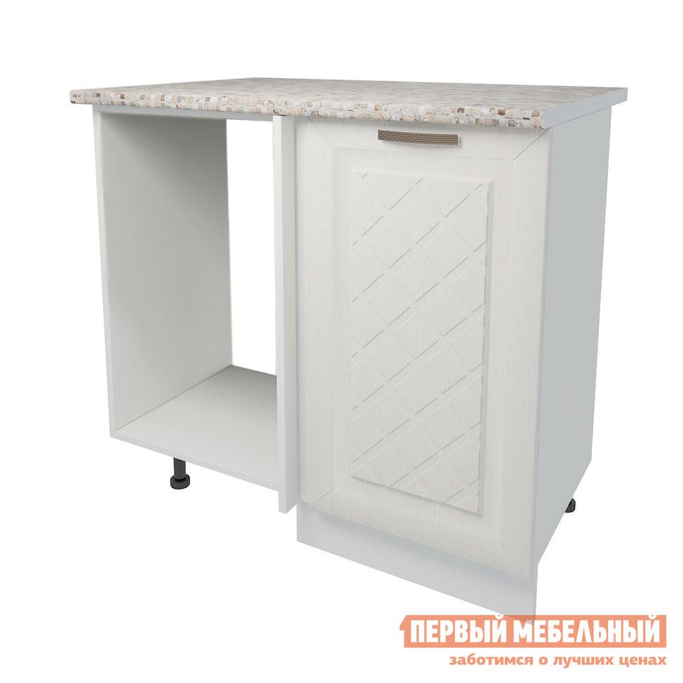 Кухонный модуль Первый Мебельный Стол угловой прямой 1 дверь 100 см Агава