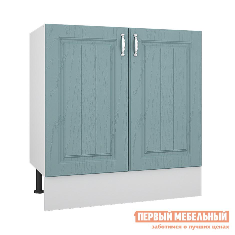 Кухонный модуль Первый Мебельный Стол под накладную мойку 2 двери 80 см Адель
