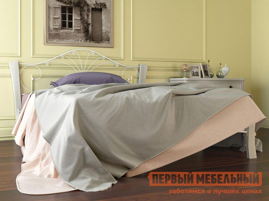 Двуспальная кровать Первый Мебельный Кровать Сандра Лайт