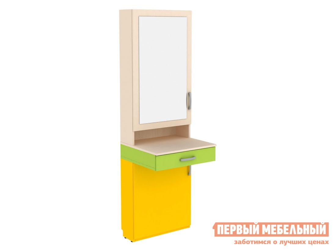 Стеллаж в детскую Первый Мебельный Трюмо Дарина АРТ.УТ01 стеллаж в детскую первый мебельный стеллаж с ящиками палермо 3