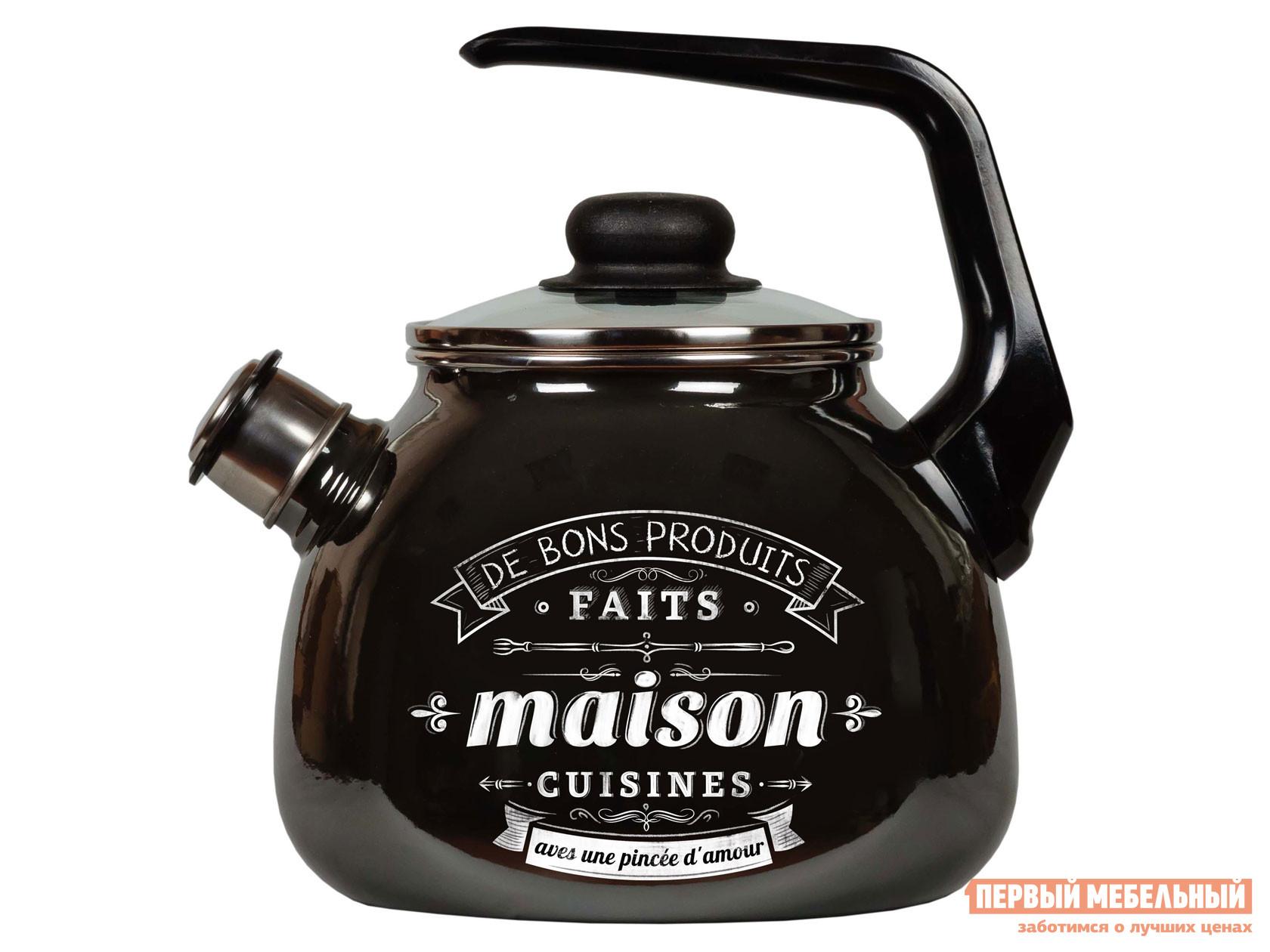 Чайник Первый Мебельный Чайник эмал 3,0л со свистком Maison ТМ Appetite