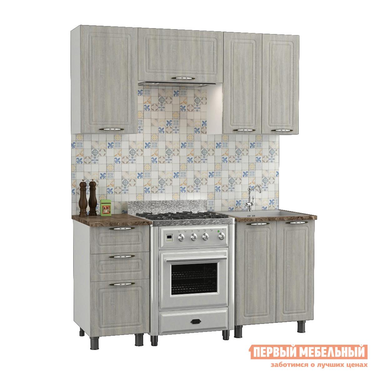 Кухонный гарнитур Первый Мебельный Прованс 1,6 м кухонный гарнитур витра тиффани к2