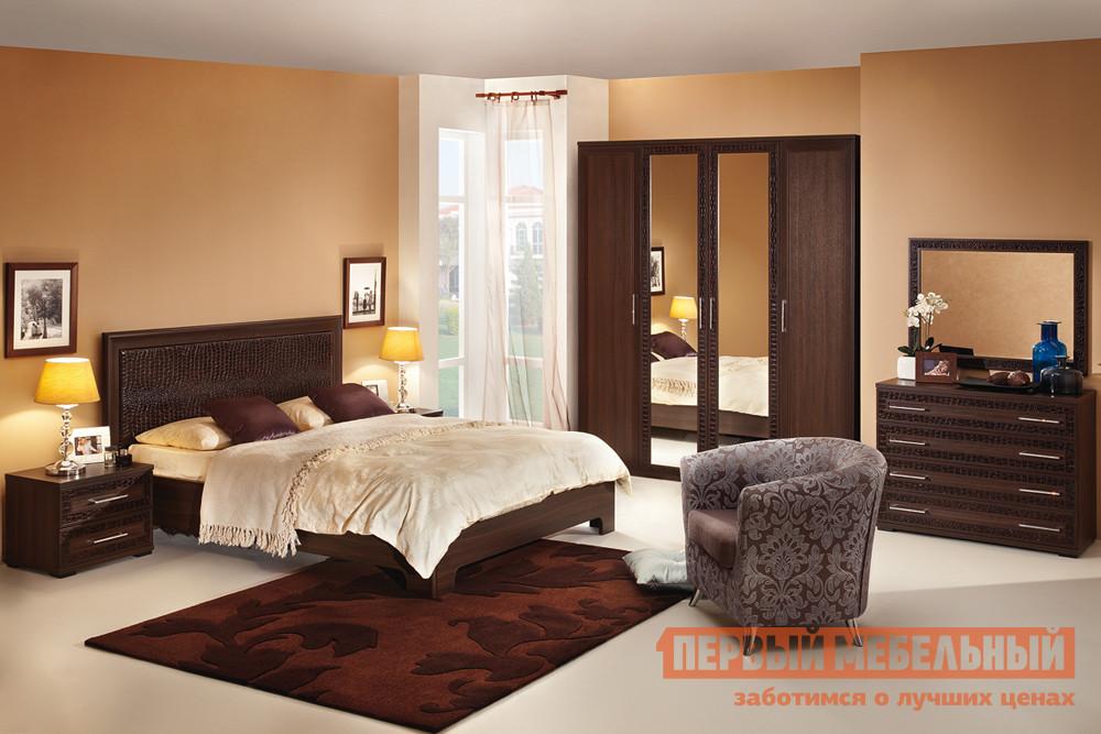 Спальный гарнитур Первый Мебельный Тоскана К1 спальный гарнитур трия саванна к1