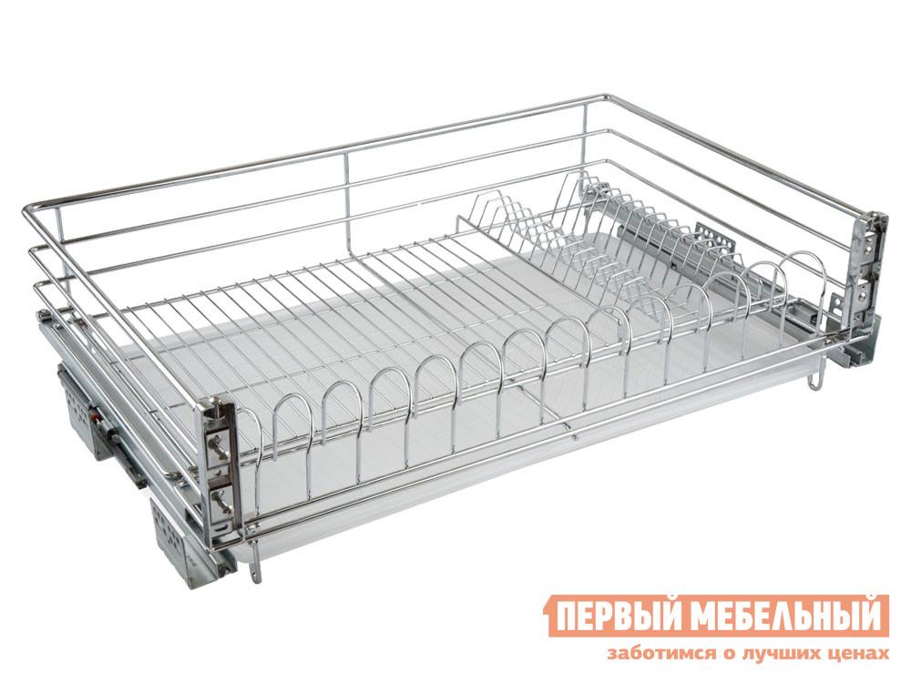 Выдвижная система  Пауль Хром, металл / Белый, пластик Магамакс 134991
