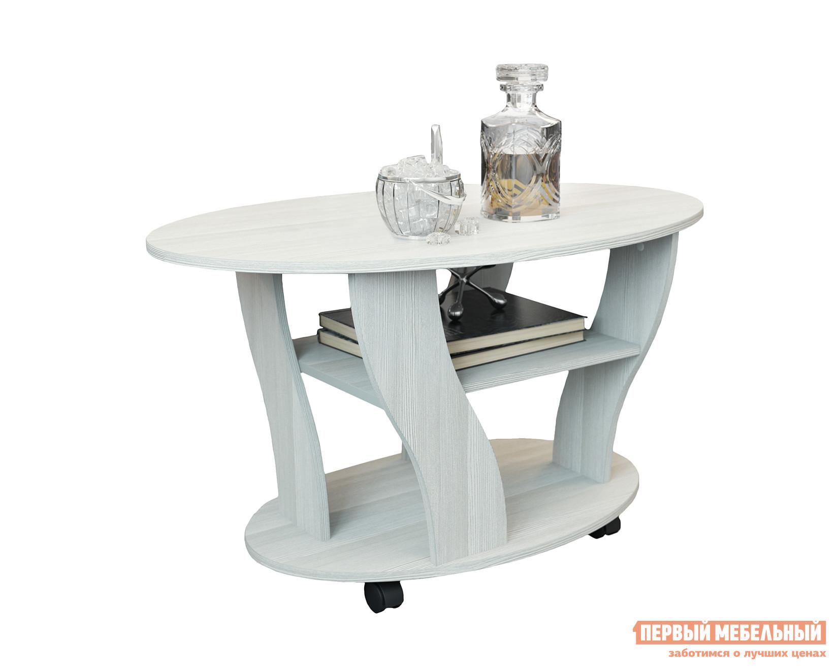 Журнальный столик на колесиках Первый Мебельный Стол журнальный Статус-2