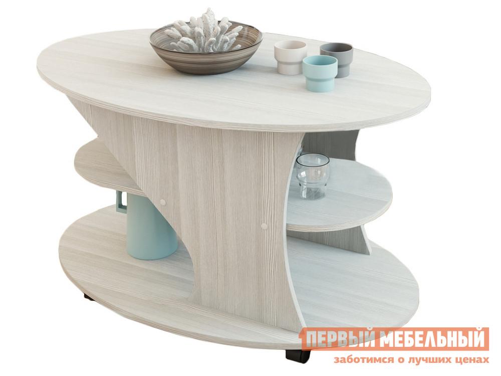 Журнальный столик на колесиках Первый Мебельный Стол журнальный Статус-1