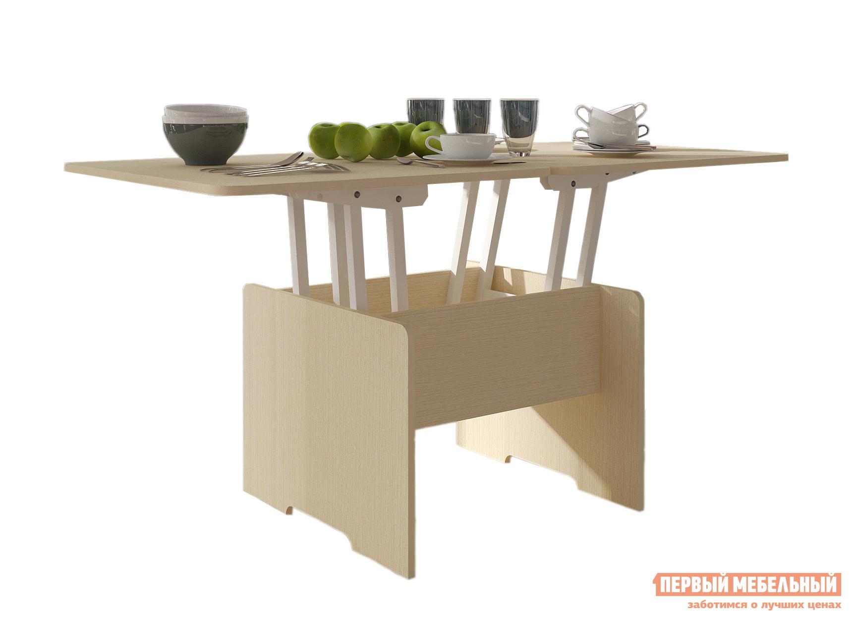 Кухонный стол Первый Мебельный Стол-трансформер Альтер