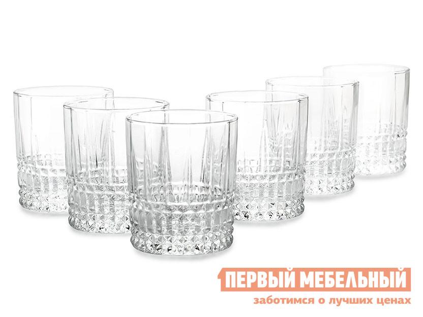 Набор низких стаканов Первый Мебельный ЭЛИЗЕ 6шт 300мл низкие