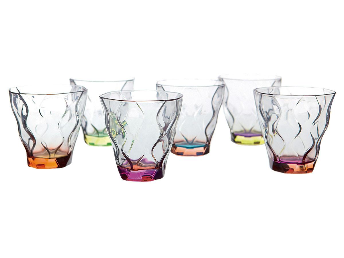 Набор стаканов Первый Мебельный Набор стаканов для виски RCR Riflessi Bicolour Цветные 300мл (6шт) недорого