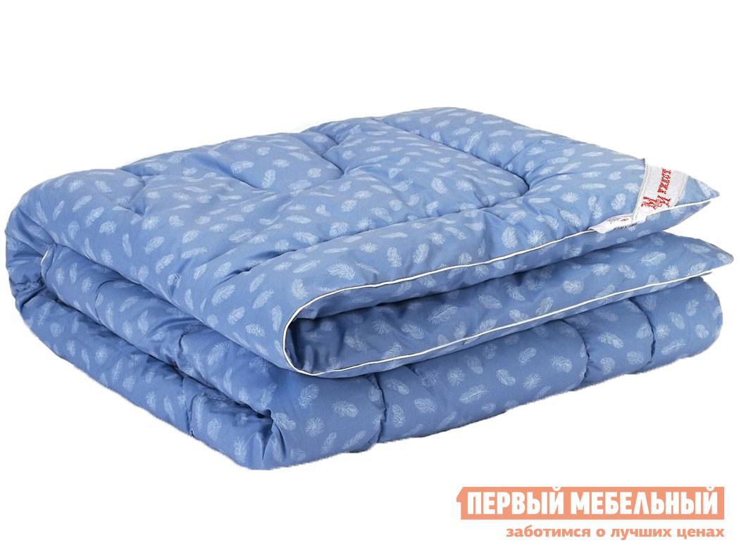 Одеяло Первый Мебельный Одеяло тик/лебяжий пух, 300г/м2 всесезонное