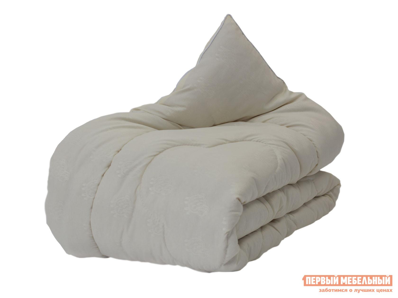 Одеяло Первый Мебельный Одеяло микрофибра/шерсть овечья 300 г/м2, всесезонное