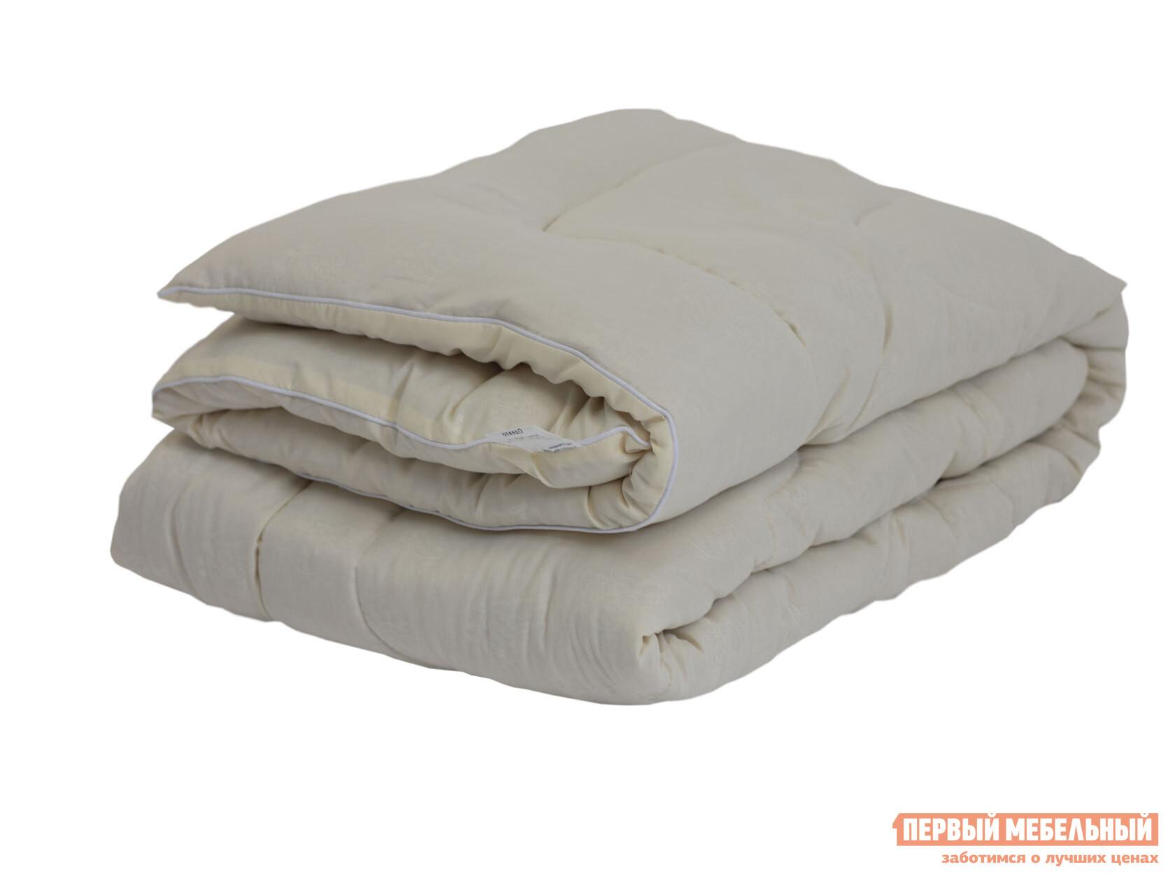 Одеяло Первый Мебельный Одеяло микрофибра/шерсть овечья 300 г/м2, всесезонное одеяло облегченное iv20338 овечья шерсть микрофибра 1 5 спальный 140 205