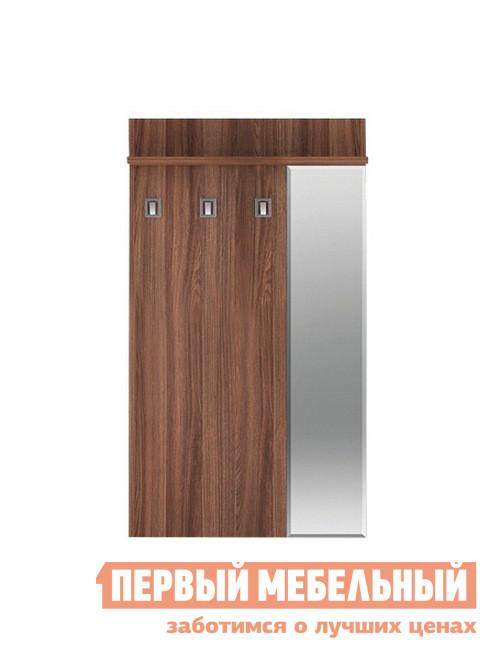 Настенная вешалка в прихожую Первый Мебельный Вешалка 900 с зеркалом Веста Статус