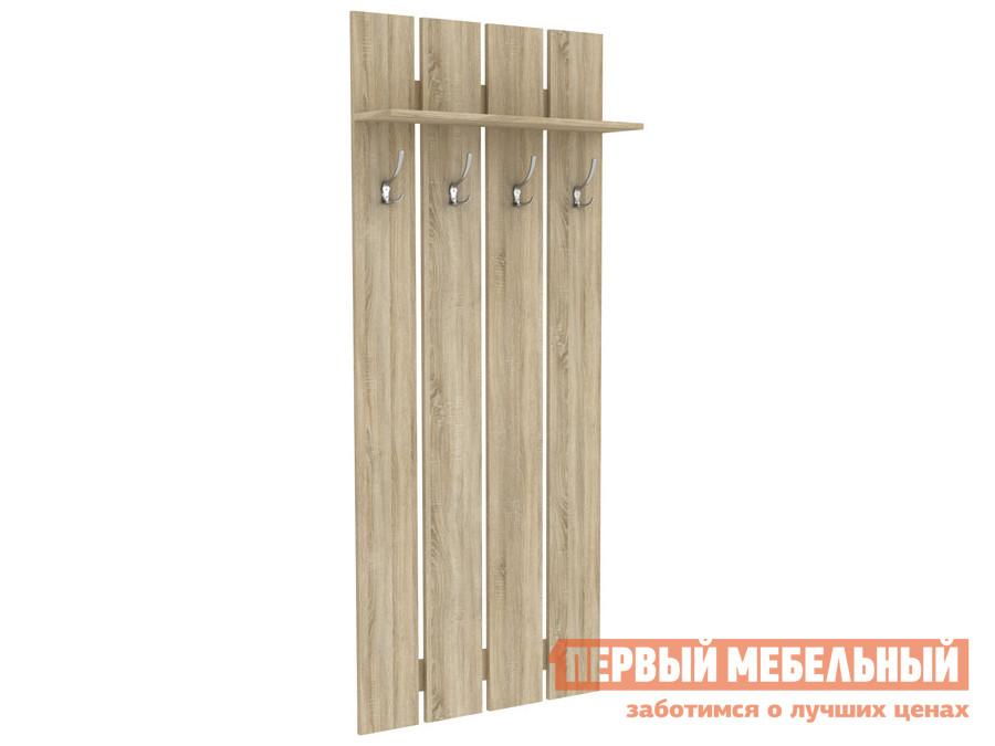 Настенная вешалка Первый Мебельный Вешалка Мерлен 4 крючка