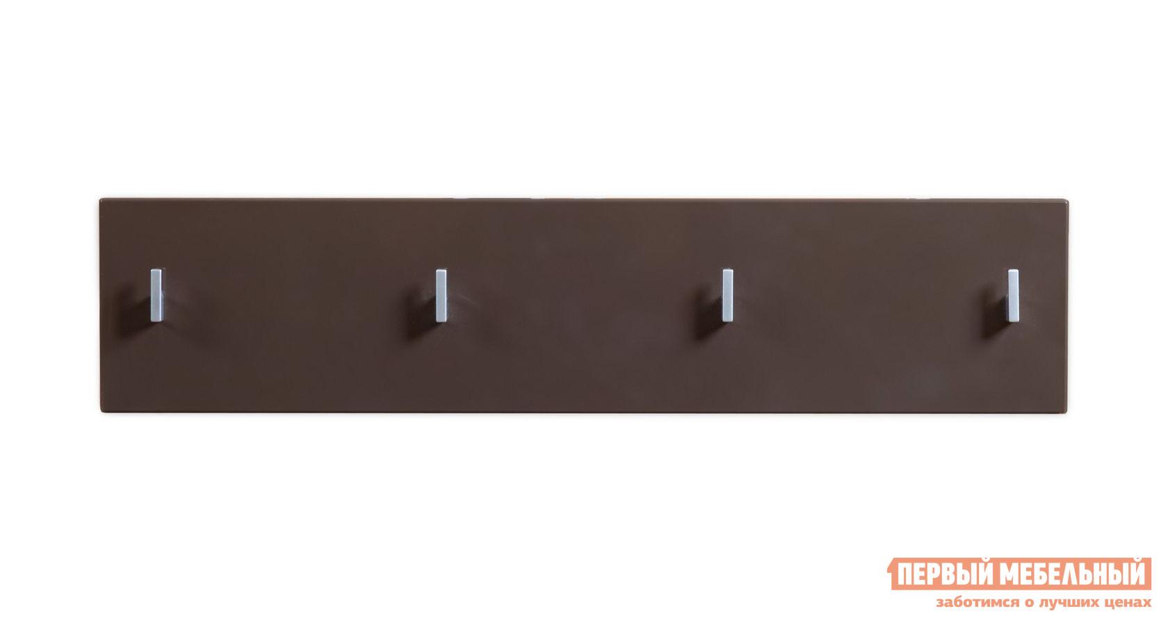 Вешалка ПМ: BRW Хоумлайн 1 Темно-коричневый блеск от Купистол