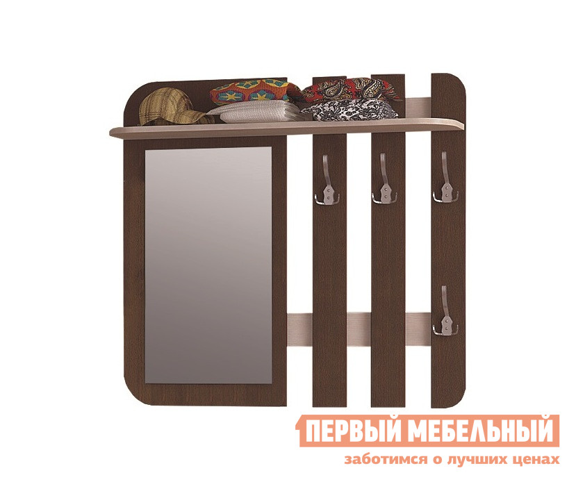 Настенная вешалка Первый Мебельный Вешалка Виктория 26 вешалка настенная 581006 доступные цвета хром