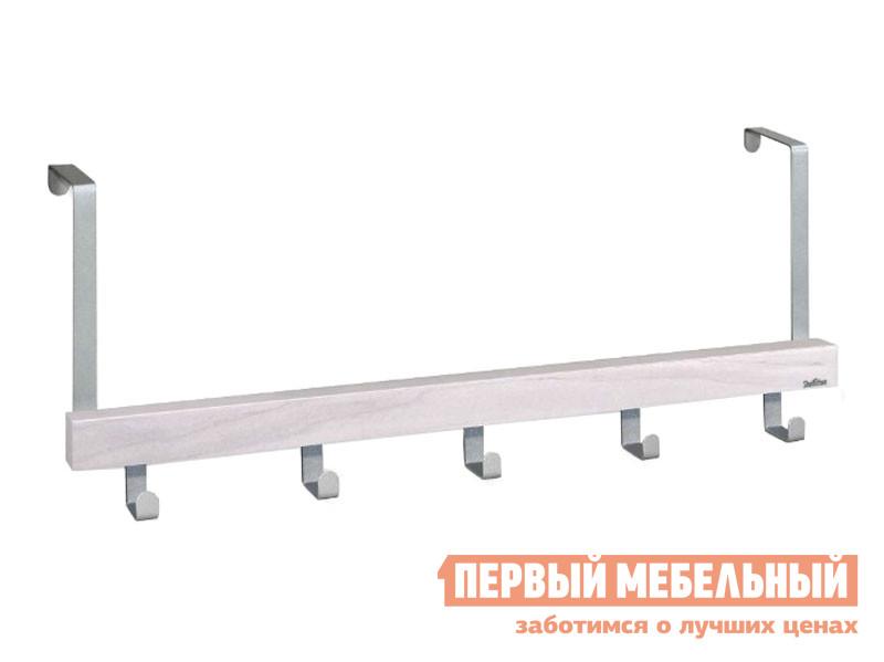 Настенная вешалка  Альберо SHT-WH25 Беленый / Алюминий, металлик Sheffilton 127270