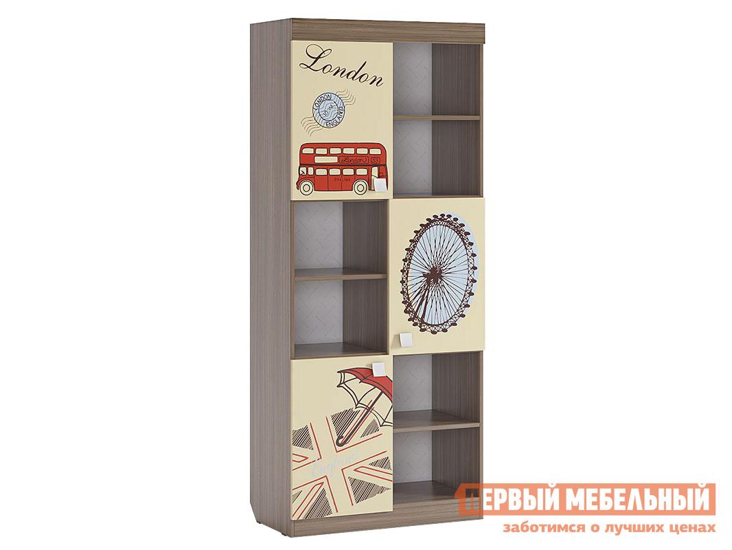 Стеллаж в детскую Первый Мебельный Челси Стеллаж стеллаж в детскую первый мебельный стеллаж с ящиками палермо 3