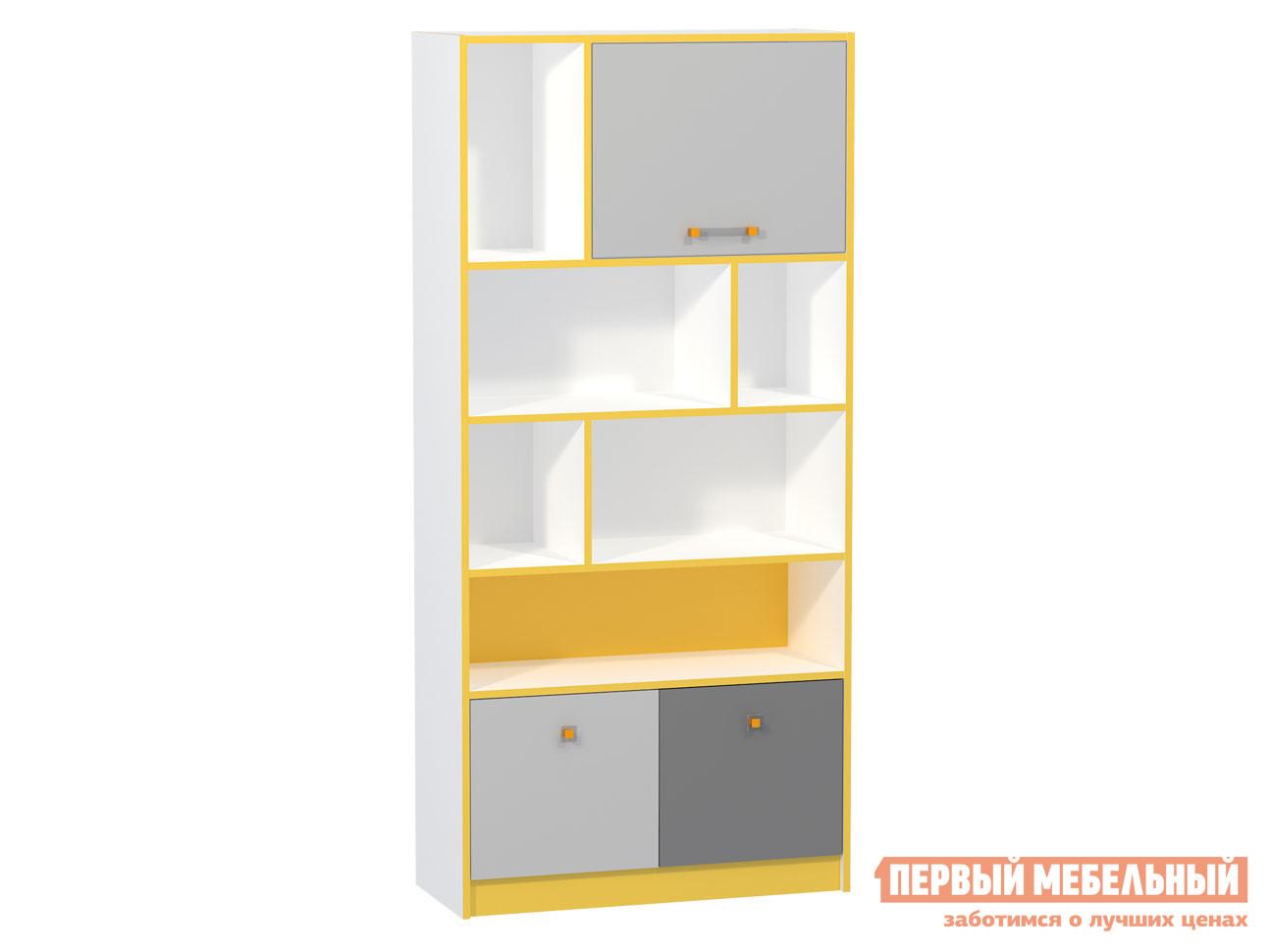 Стеллаж в детскую Первый Мебельный Альфа Стеллаж 09.136 стеллаж в детскую первый мебельный стеллаж с ящиками палермо 3