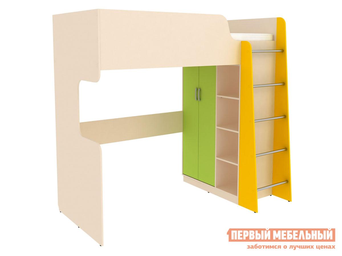 Кровать-чердак Первый Мебельный Кровать двухъярусная Дарина АРТ.УК03