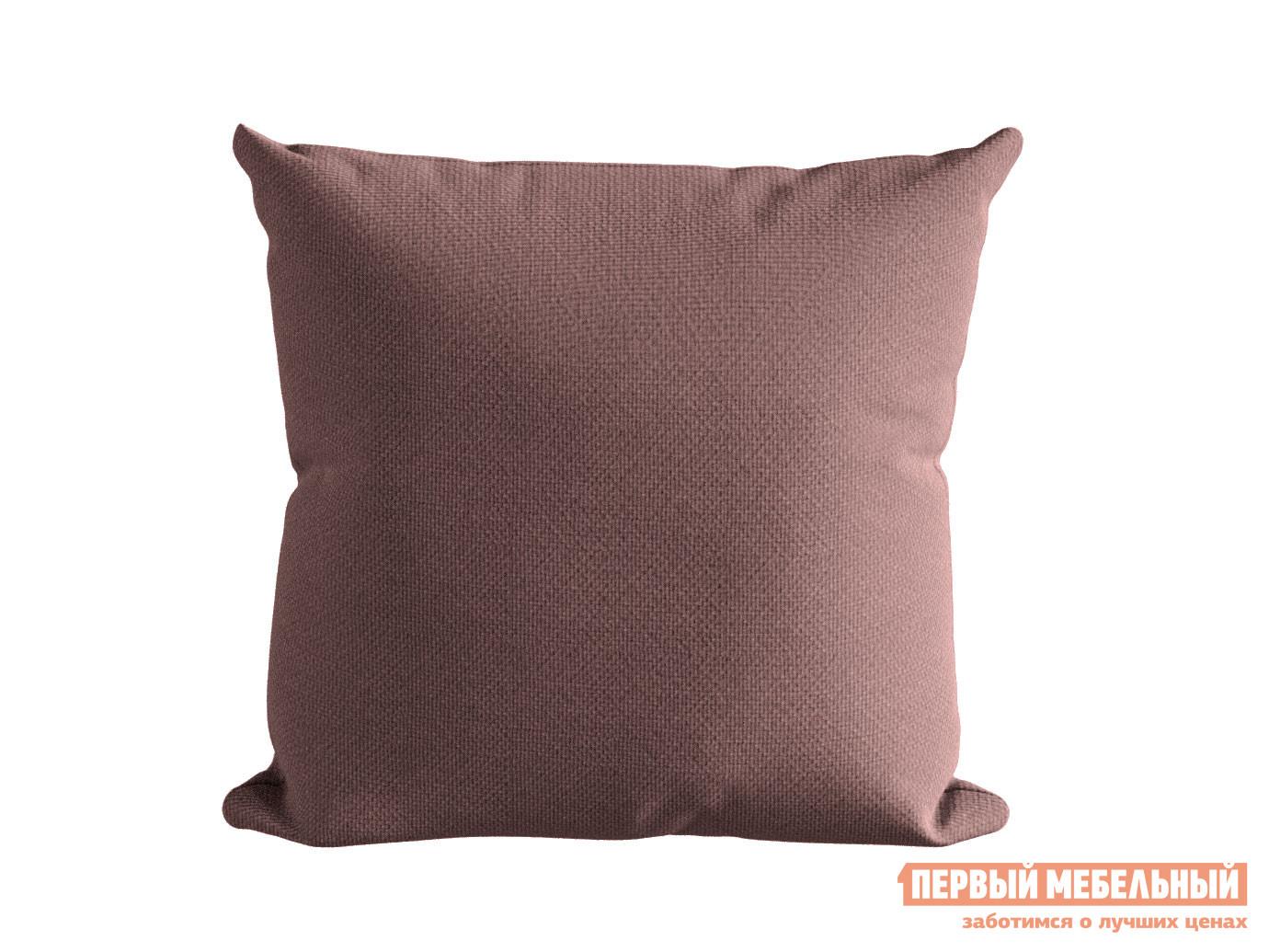 Декоративная подушка  ШН(391-15), Размер 45х45 брусника Брусника, рогожка Ми Текстиль 116213