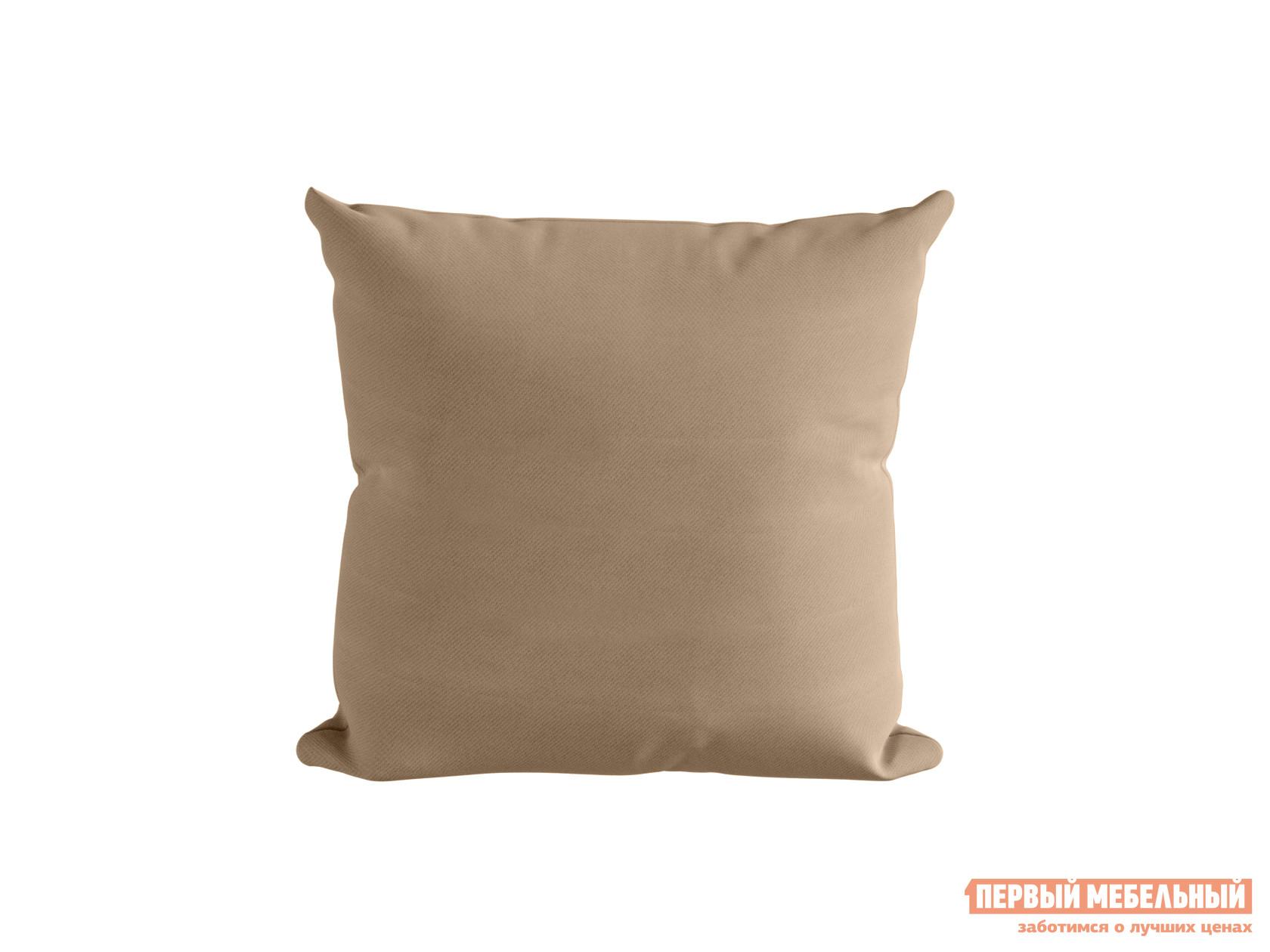 Декоративная подушка  Подушка ШН(11), Размер 45х45 Бежевый, блэкаут