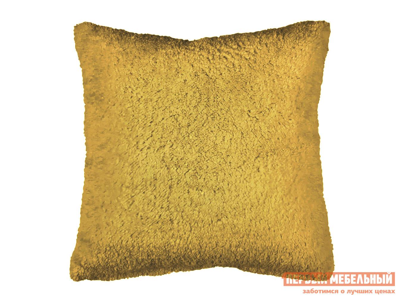 Декоративная подушка Первый Мебельный Подушка 40х40 декоративная шерпа