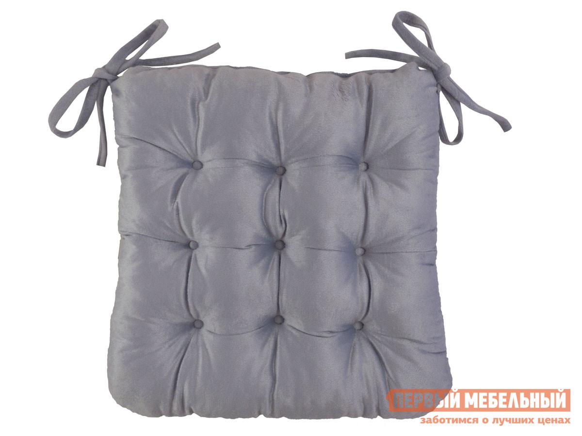 Фото - Подушка на стул Первый Мебельный Сидушка завязками (светло-лиловая Linenway) чехол на стул италия с завязками ст ш 36х36 см