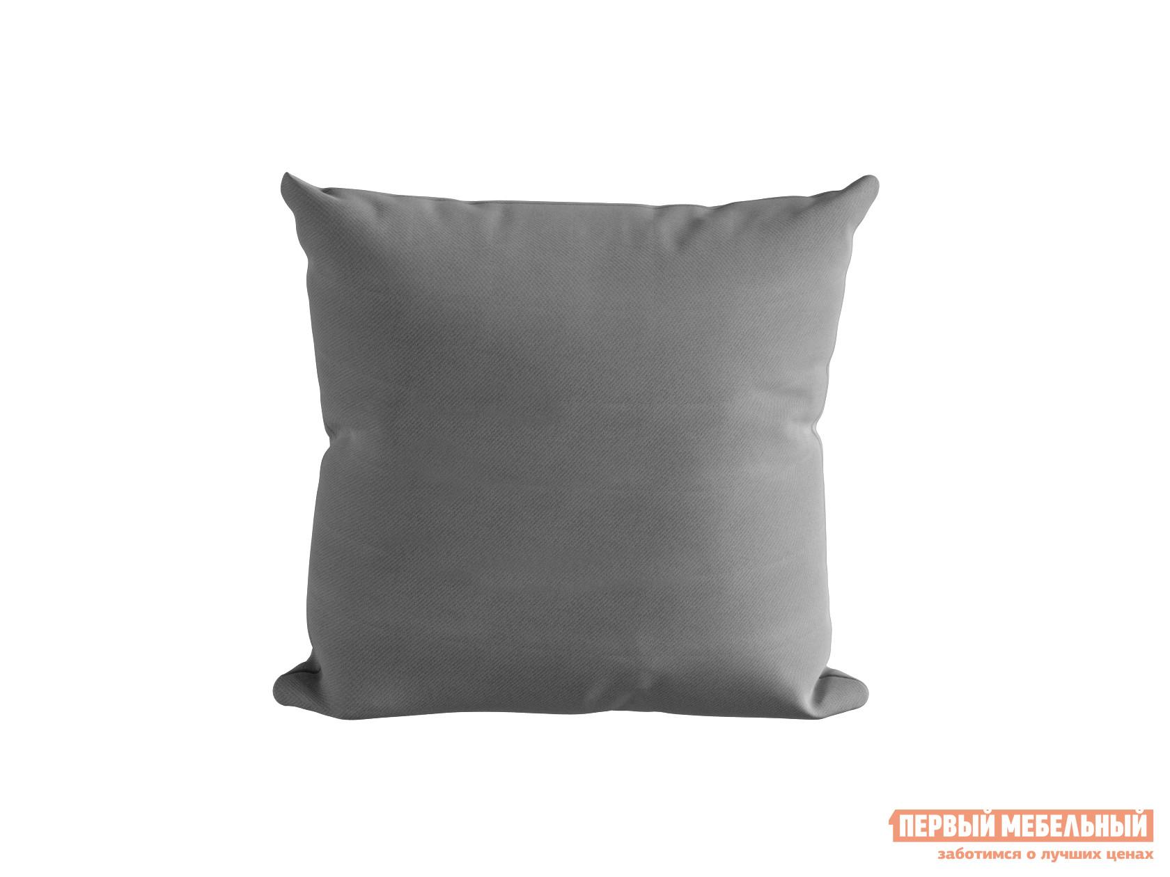 Декоративная подушка Первый Мебельный Подушка ШН(15), Размер 45х45 серый