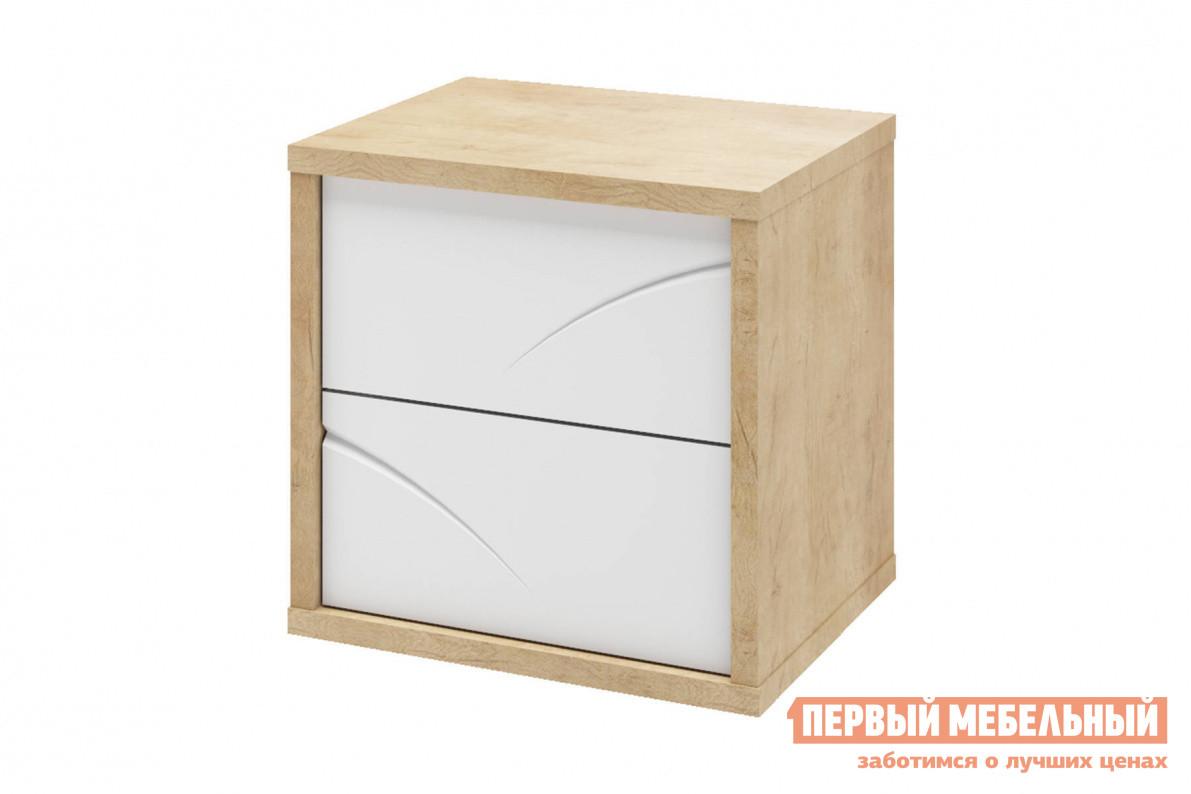 Прикроватная тумбочка Первый Мебельный Тумба прикроватная Мадера прикроватная тумбочка нк мебель летиция тумба прикроватная