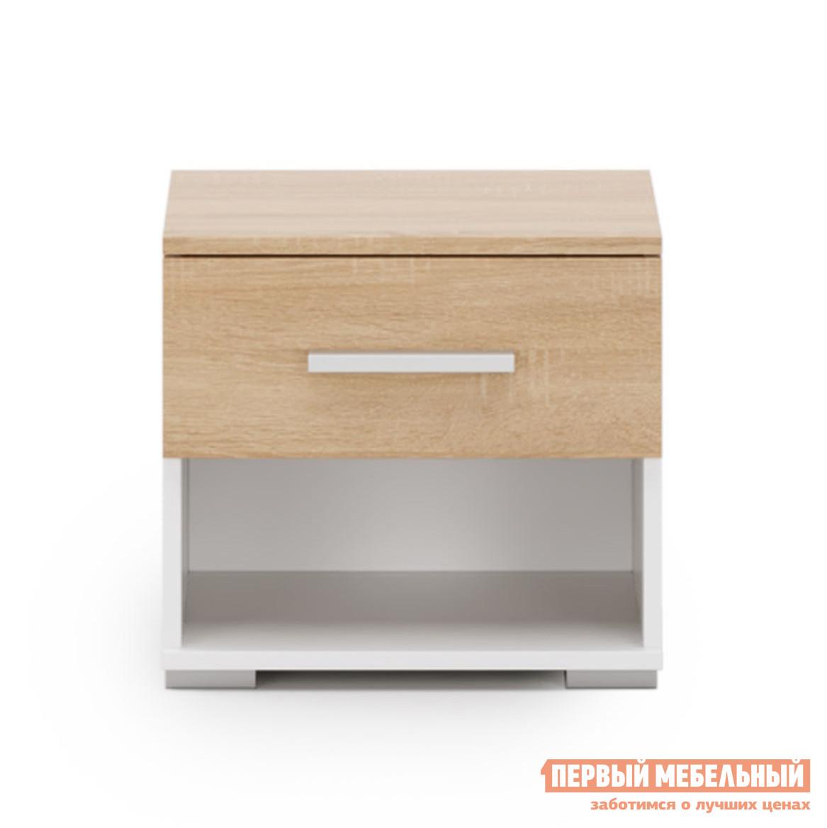 Прикроватная тумбочка Первый Мебельный Тумба Даллас w5w 5w standart 2 шт osram