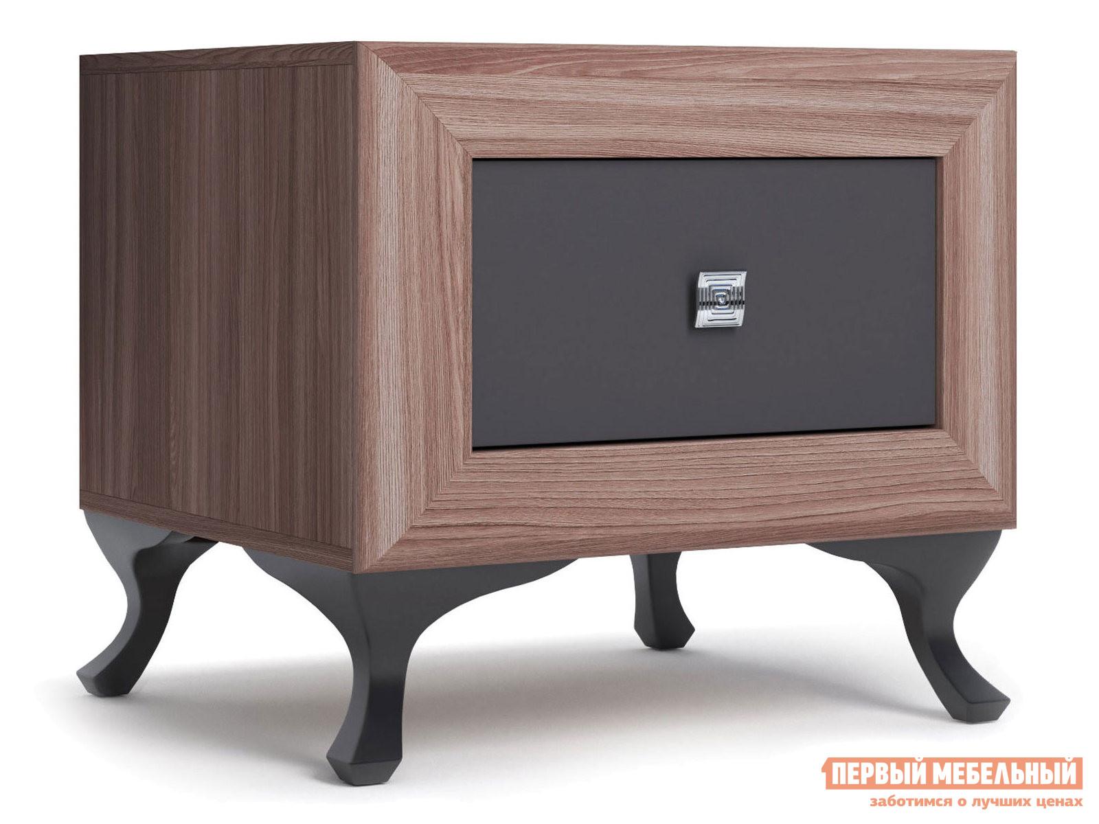 Прикроватная тумбочка Первый Мебельный Тумба прикроватная Модена