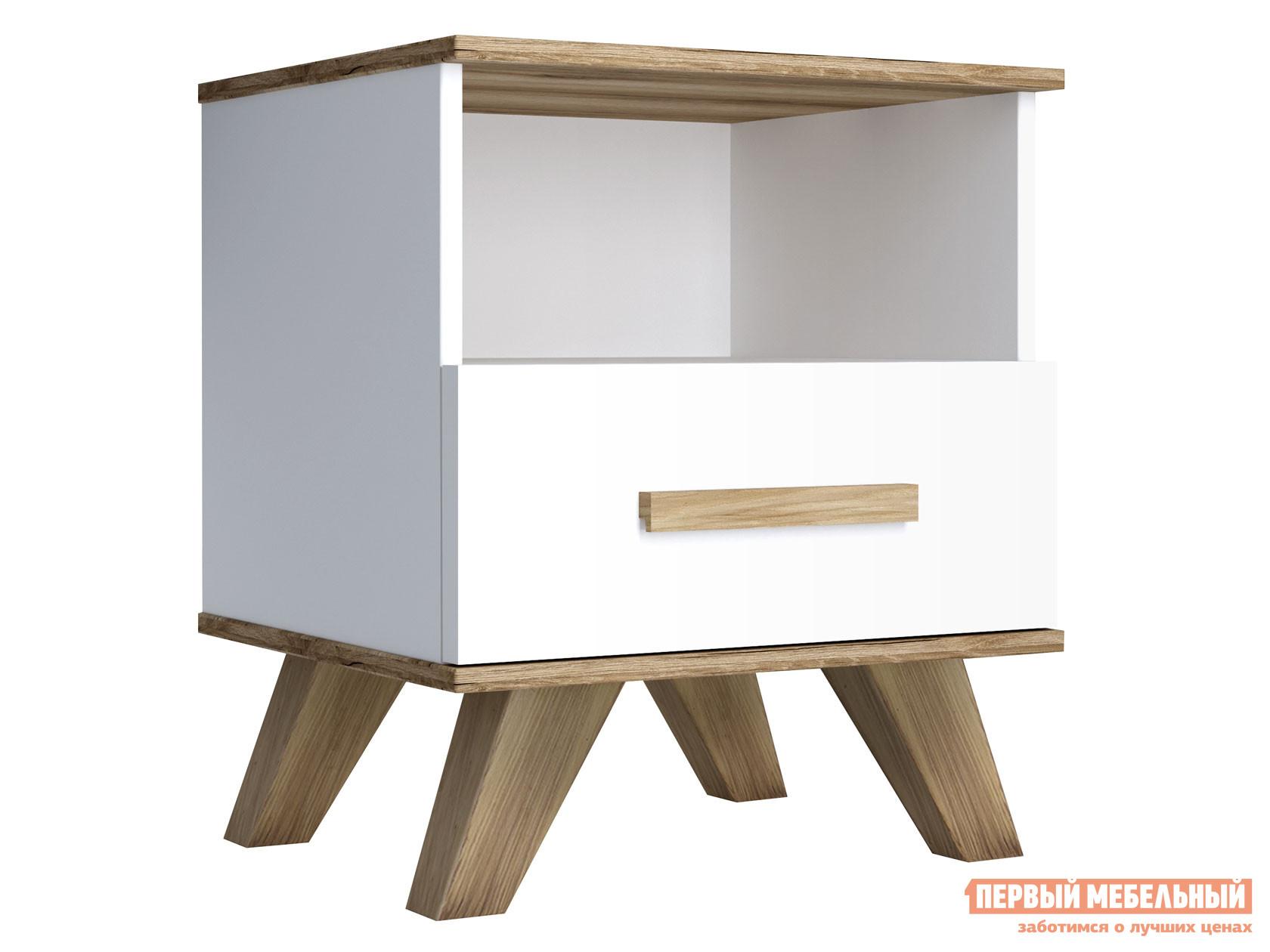 Фото - Прикроватная тумбочка Первый Мебельный Тумба прикроватная Вега Скандинавия прикроватная тумбочка первый мебельный прикроватная тумба стандарт