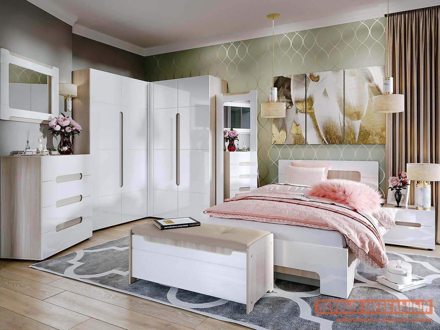 белый спальный гарнитур картинки собранных