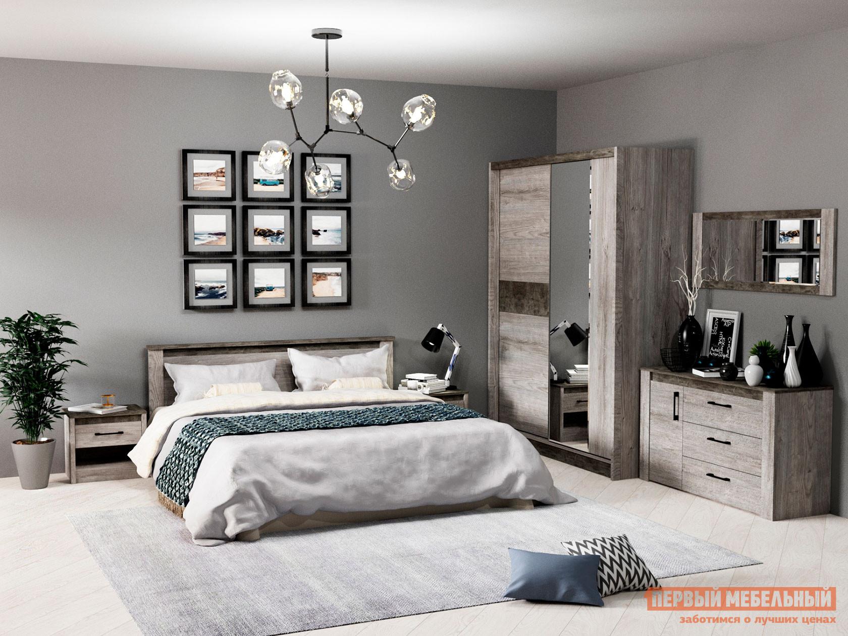 Спальный гарнитур Первый Мебельный Комплект мебели для спальни Денвер С2 спальный гарнитур нк мебель комплект мебели для спальни тиберия к2