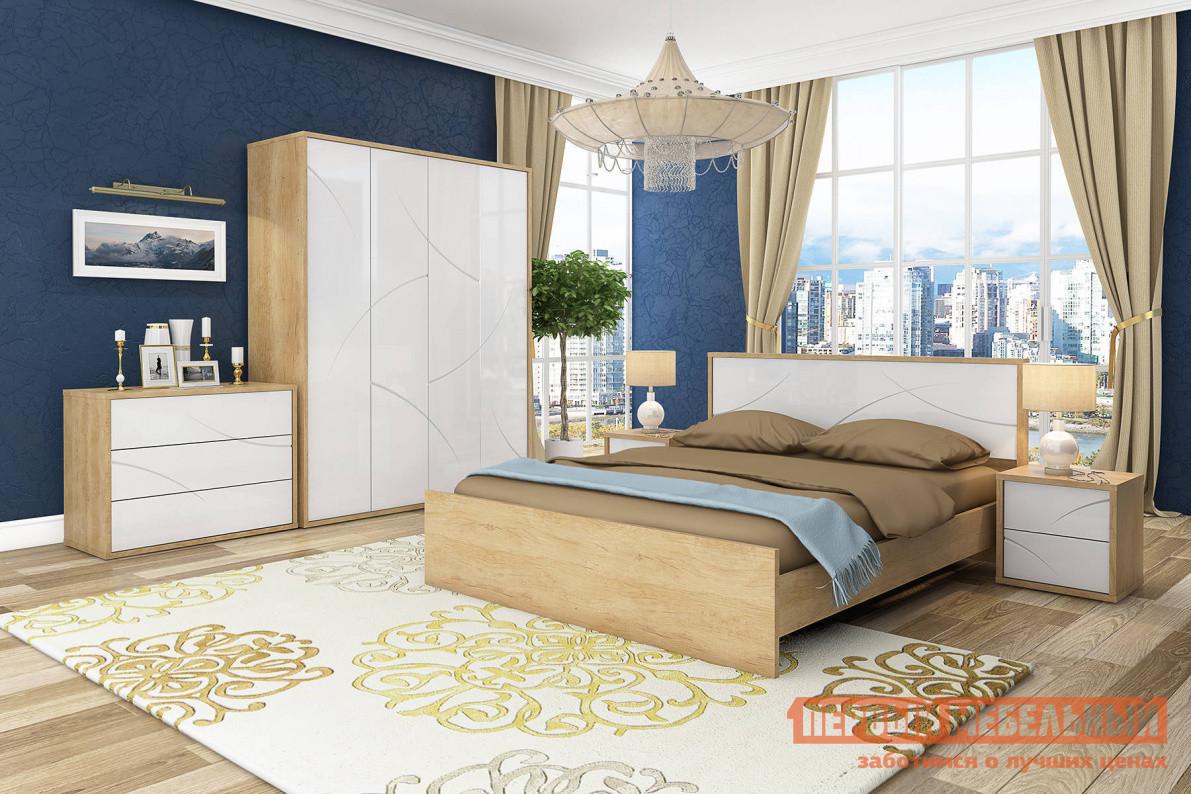 Спальный гарнитур Первый Мебельный Спальня Мадера спальный гарнитур трия ривьера гн 241 004 спальный гарнитур 4
