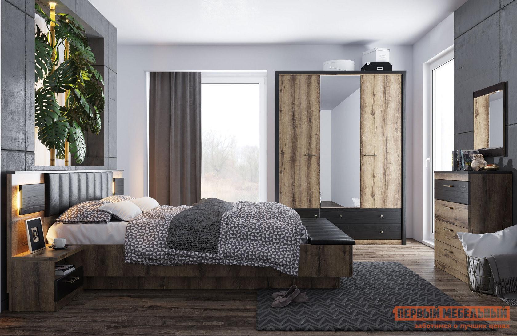 Спальный гарнитур Первый Мебельный Джагер С К1