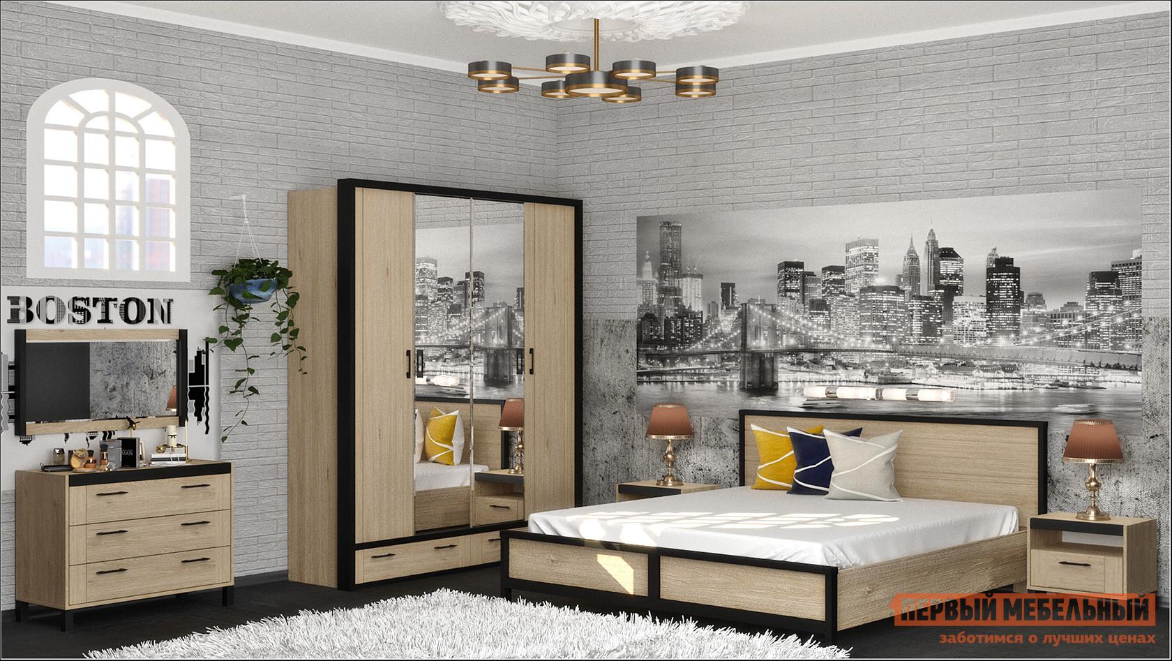Спальный гарнитур Первый Мебельный Бостон К1