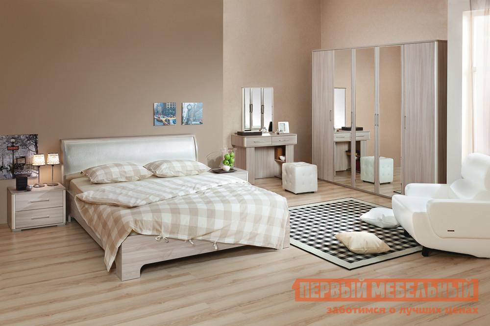 Спальный гарнитур Первый Мебельный Сорренто СК2 спальный гарнитур боровичи классика ск2