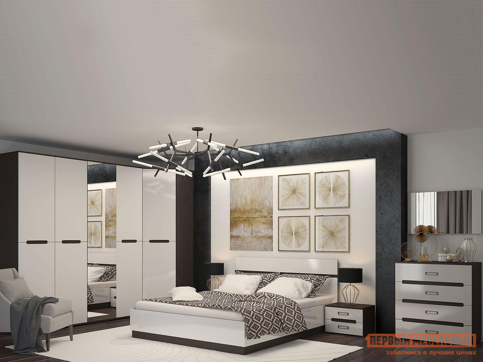 Спальный гарнитур Первый Мебельный Комплект мебели для спальни Вегас К2 спальный гарнитур нк мебель комплект мебели для спальни тиберия к2
