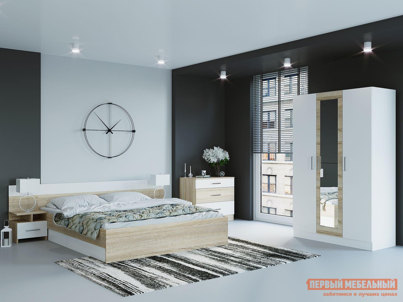 Спальный гарнитур Первый Мебельный Комплект мебели для спальни Леси К2 спальный гарнитур нк мебель комплект мебели для спальни тиберия к2