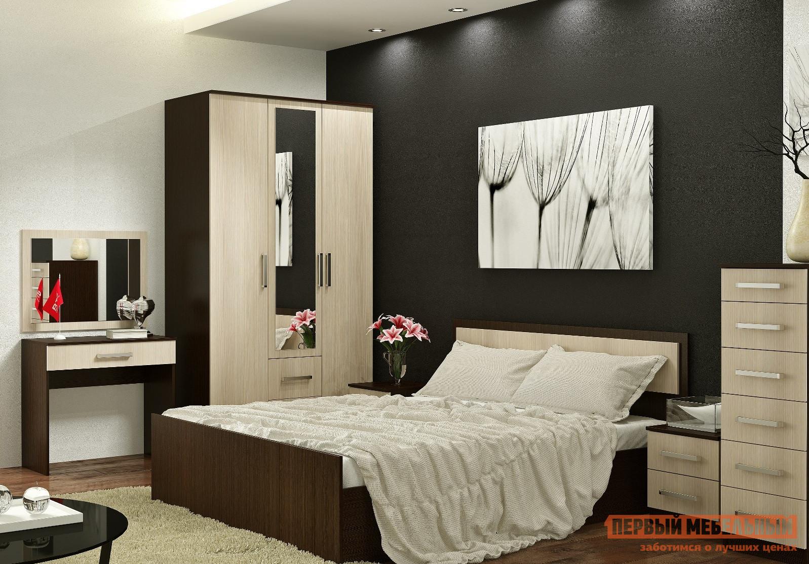 Спальный гарнитур Первый Мебельный Спальня Фиеста 1