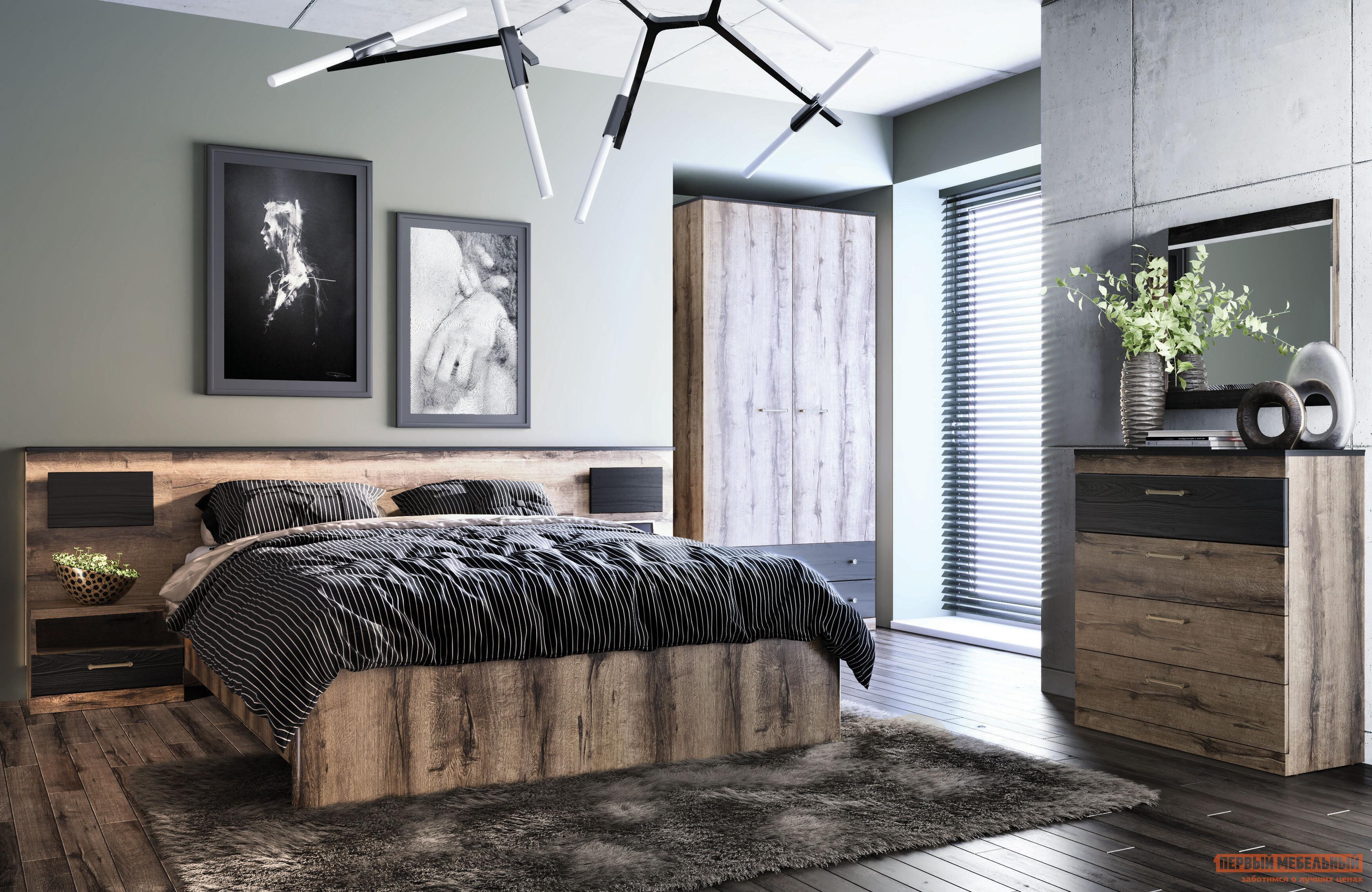 Спальный гарнитур Первый Мебельный Джагер С К2