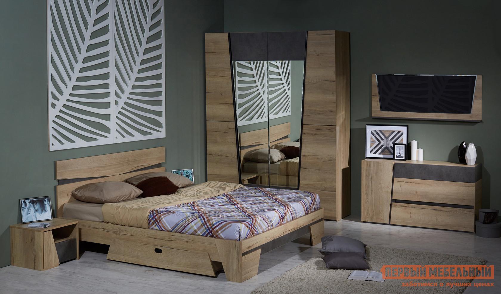 Спальный гарнитур Первый Мебельный Стреза К1 спальный гарнитур первый мебельный стреза к2