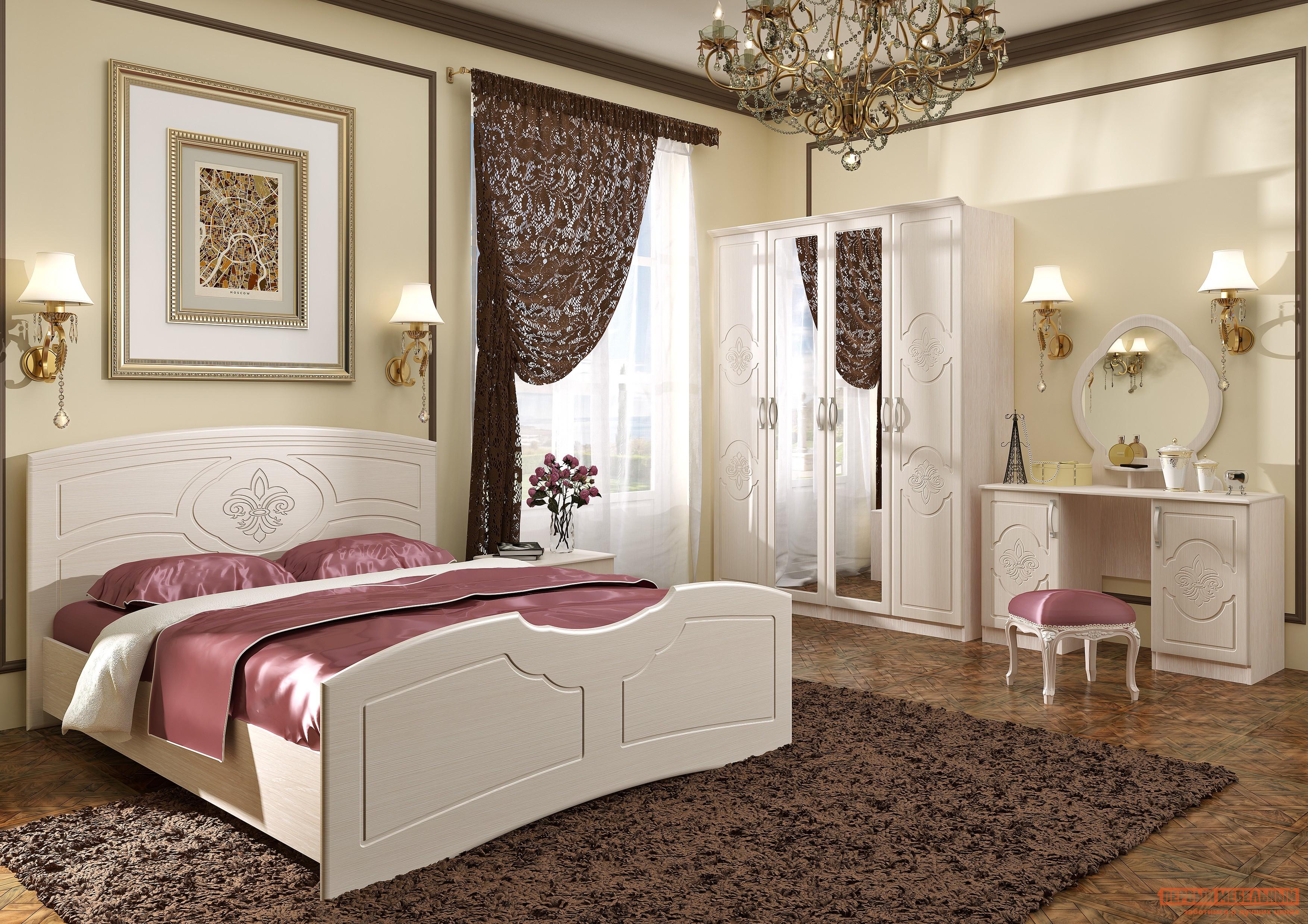 Спальный гарнитур Первый Мебельный Спальня Лилия спальный гарнитур первый мебельный стреза к2